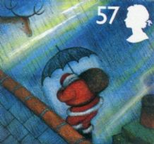 57p Discount GB Christmas Postage Stamp